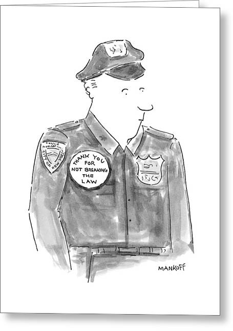 New Yorker April 19th, 1999 Greeting Card