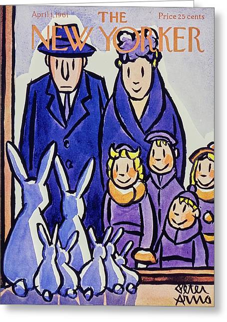 New Yorker April 1st 1961 Greeting Card