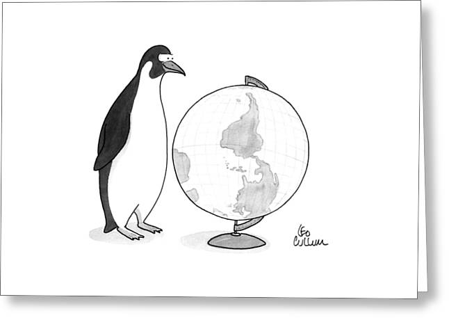New Yorker April 20th, 1992 Greeting Card by Leo Cullum