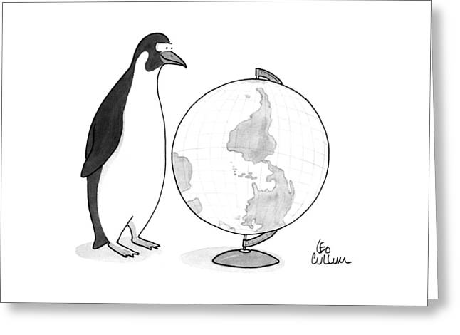 New Yorker April 20th, 1992 Greeting Card