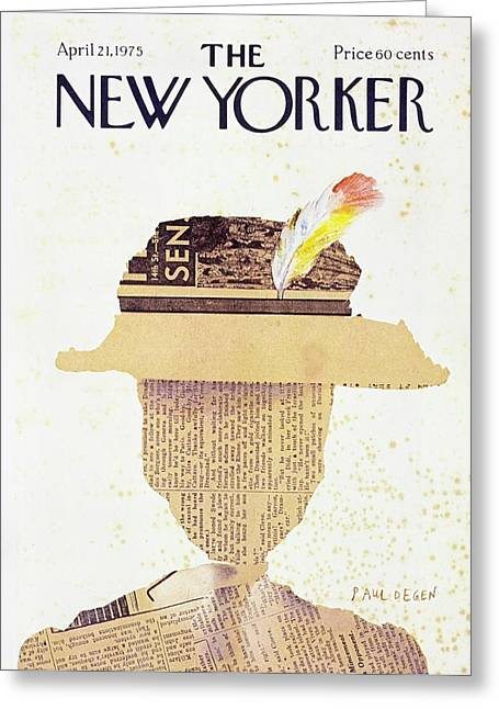 New Yorker April 21st 1975 Greeting Card