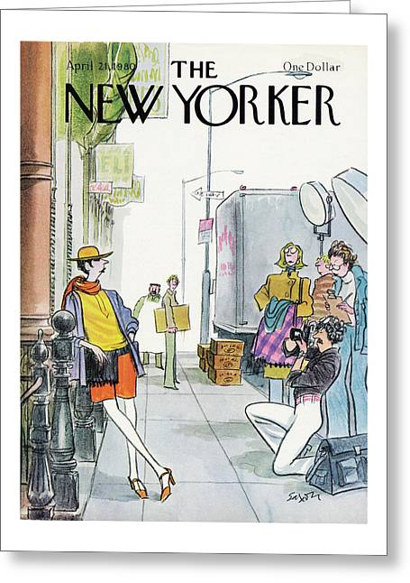 New Yorker April 21st, 1980 Greeting Card