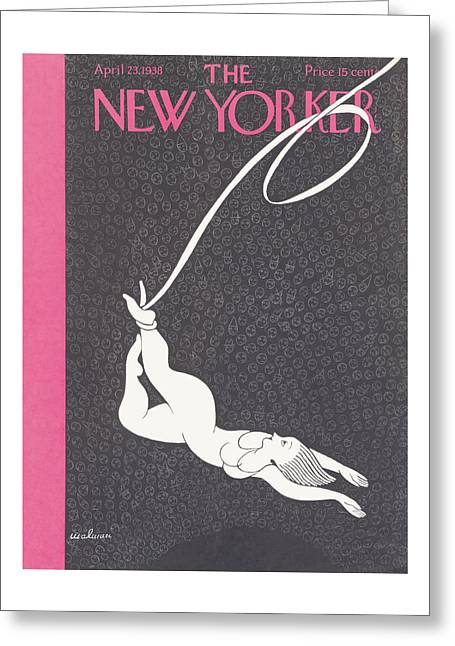 New Yorker April 23rd, 1938 Greeting Card