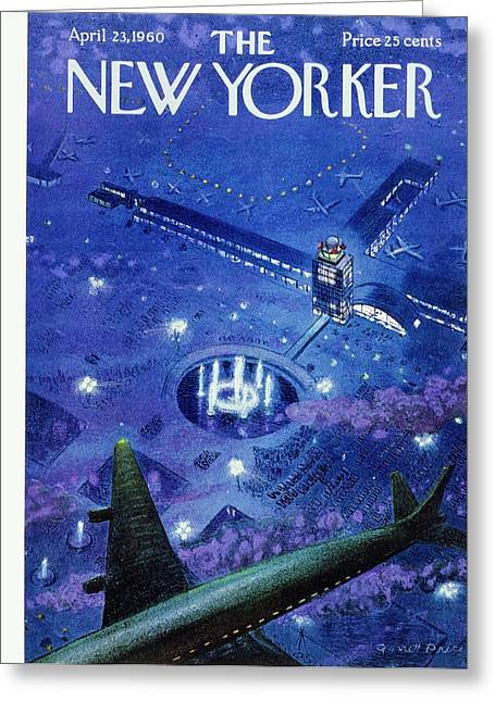 New Yorker April 23rd 1960 Greeting Card