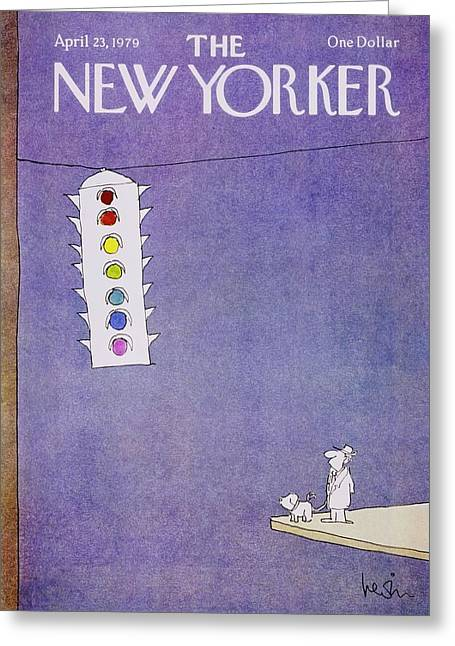 New Yorker April 23rd 1979 Greeting Card