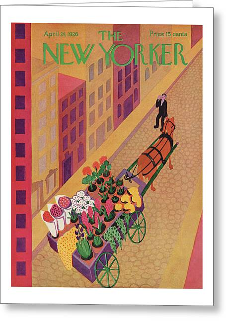 New Yorker April 24th, 1926 Greeting Card