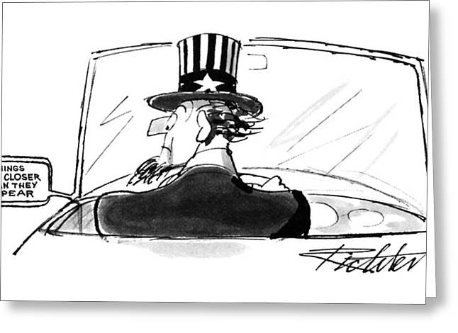 New Yorker April 24th, 1995 Greeting Card by Mischa Richter