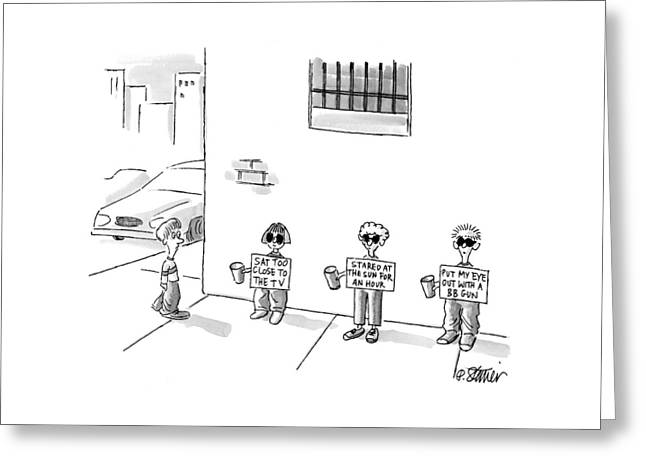 New Yorker April 26th, 1999 Greeting Card