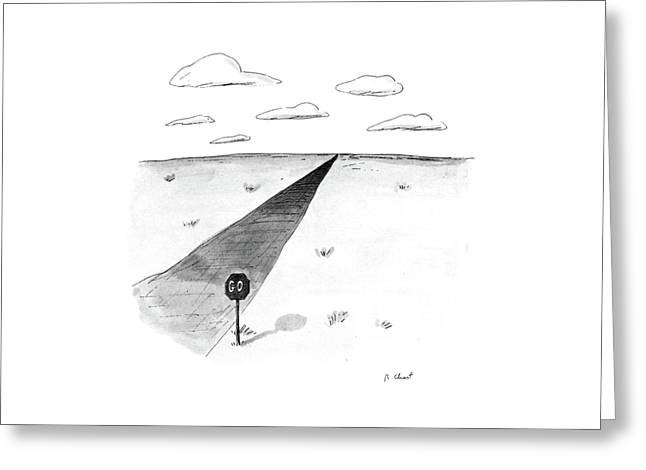 New Yorker April 27th, 1987 Greeting Card