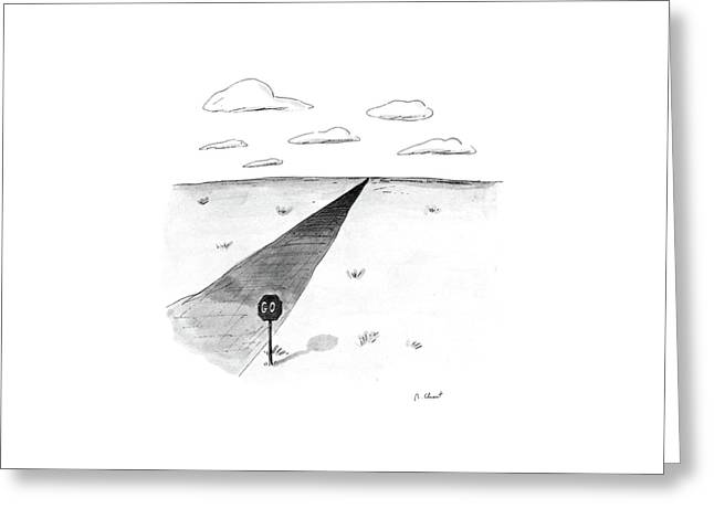 New Yorker April 27th, 1987 Greeting Card by Roz Chast