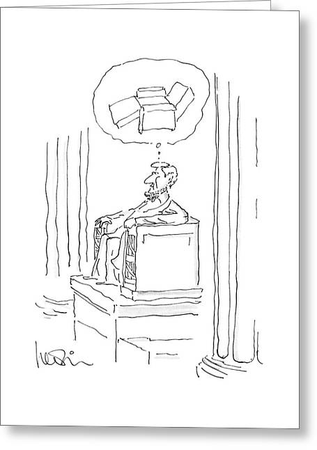 New Yorker April 28th, 1986 Greeting Card
