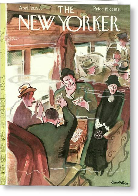 New Yorker April 29th, 1933 Greeting Card