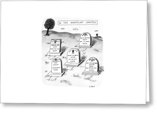 New Yorker April 29th, 1991 Greeting Card by Roz Chast