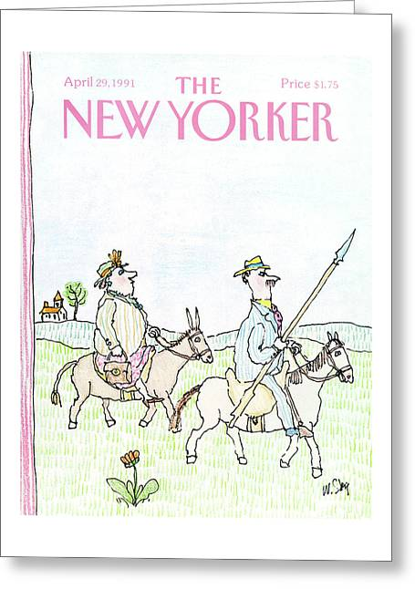 New Yorker April 29th, 1991 Greeting Card