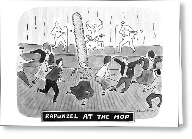New Yorker April 2nd, 1990 Greeting Card