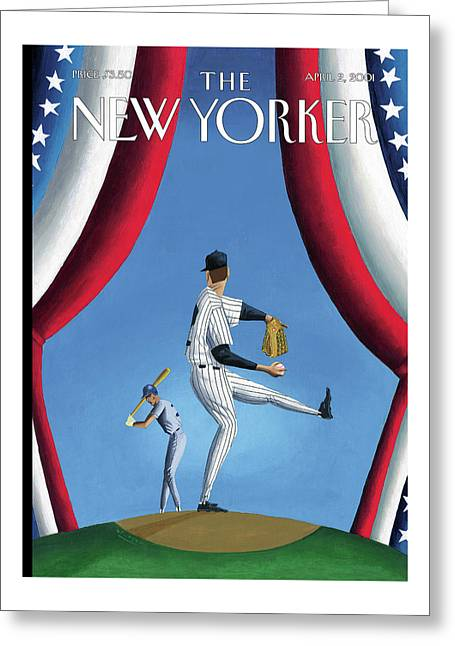 New Yorker April 2nd, 2001 Greeting Card
