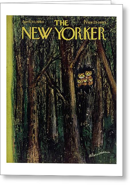 New Yorker April 30th 1960 Greeting Card