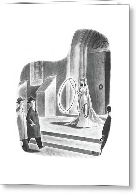New Yorker April 6th, 1940 Greeting Card