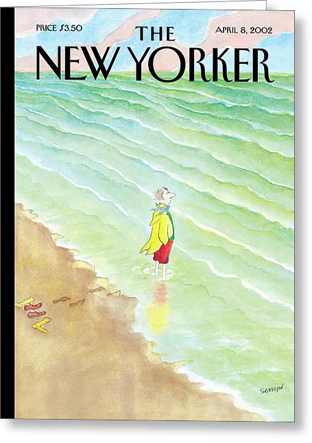 New Yorker April 8th, 2002 Greeting Card