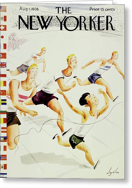 New Yorker August 1 1936 Greeting Card