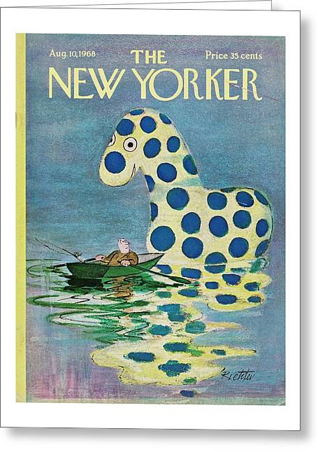 New Yorker August 10th 1968 Greeting Card