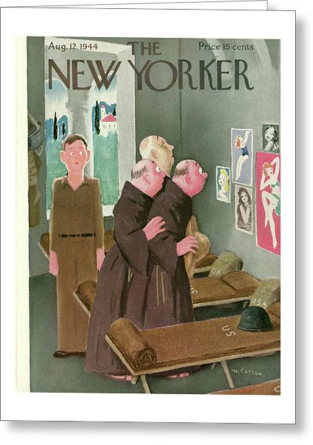 New Yorker August 12th, 1944 Greeting Card