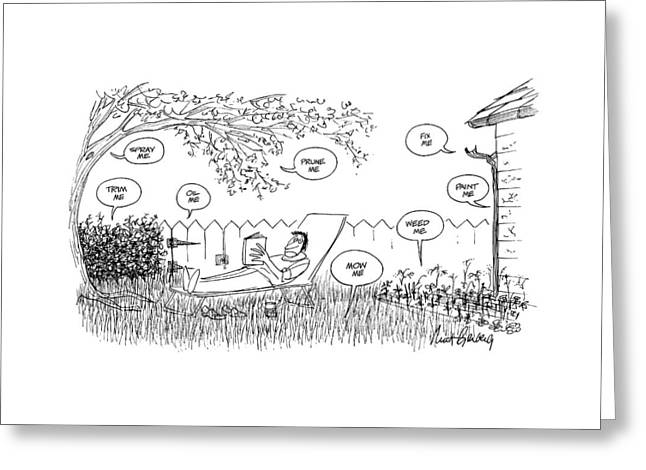 New Yorker August 12th, 1974 Greeting Card