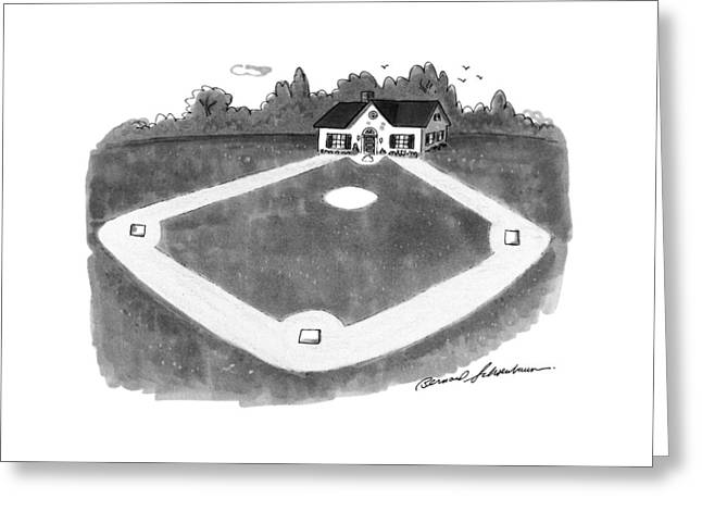 New Yorker August 12th, 1991 Greeting Card