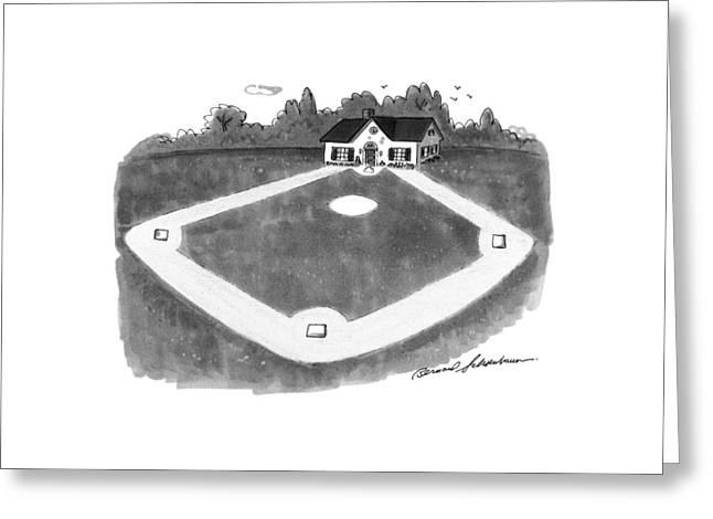 New Yorker August 12th, 1991 Greeting Card by Bernard Schoenbaum