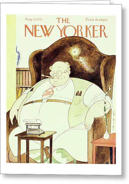 New Yorker August 13 1932 Greeting Card