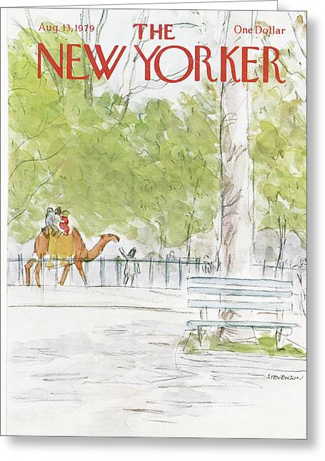 New Yorker August 13th, 1979 Greeting Card