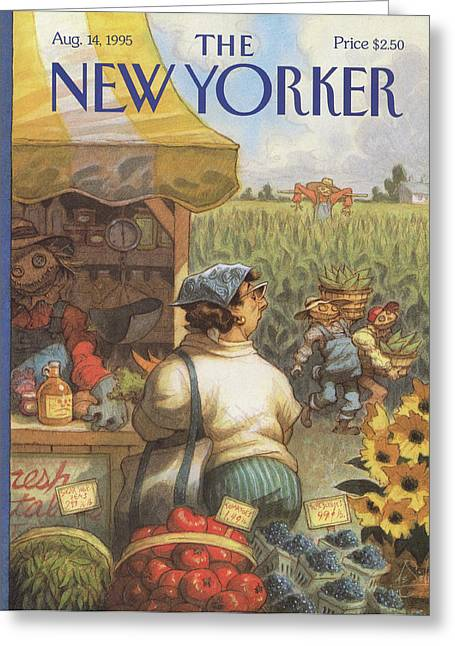 New Yorker August 14th, 1995 Greeting Card