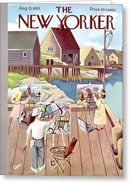 New Yorker August 15th, 1953 Greeting Card