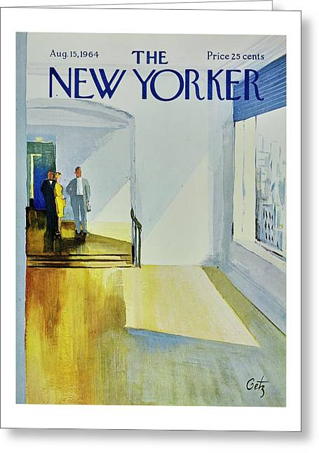 New Yorker August 15th 1964 Greeting Card