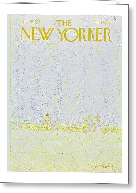 New Yorker August 15th 1977 Greeting Card