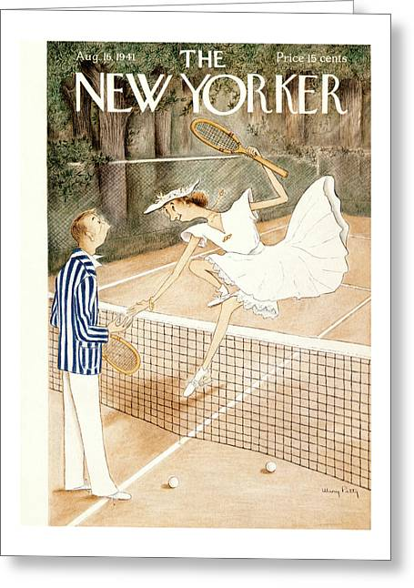 New Yorker August 16th, 1941 Greeting Card