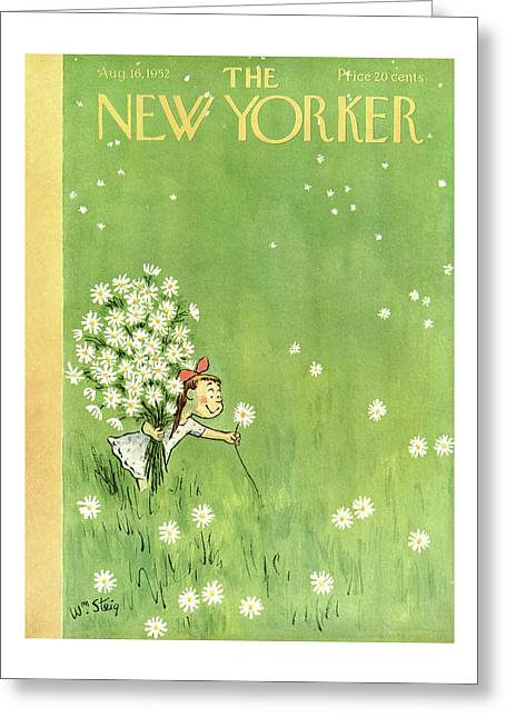 New Yorker August 16th, 1952 Greeting Card
