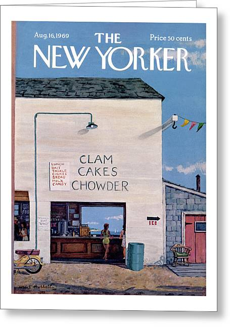 New Yorker August 16th, 1969 Greeting Card