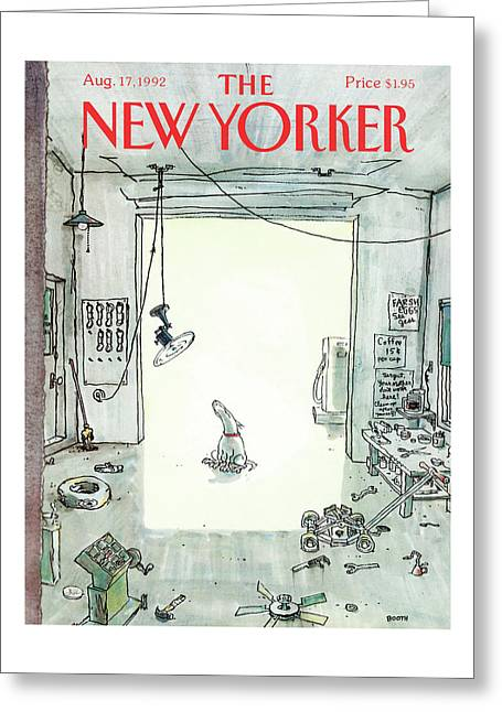 New Yorker August 17th, 1992 Greeting Card
