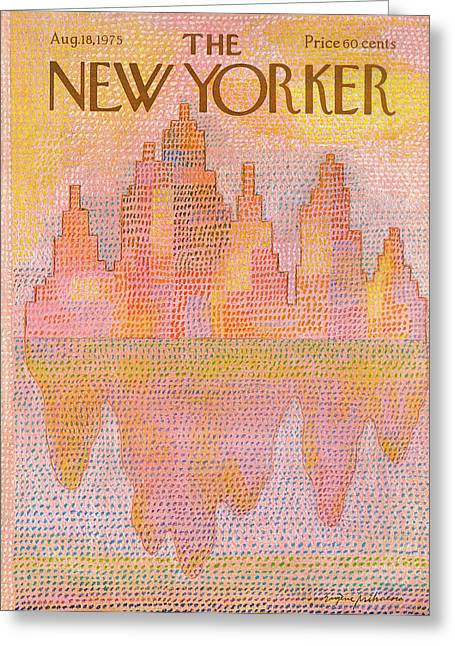 New Yorker August 18th, 1975 Greeting Card