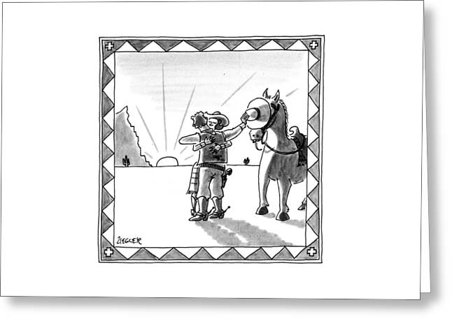 New Yorker August 19th, 1991 Greeting Card