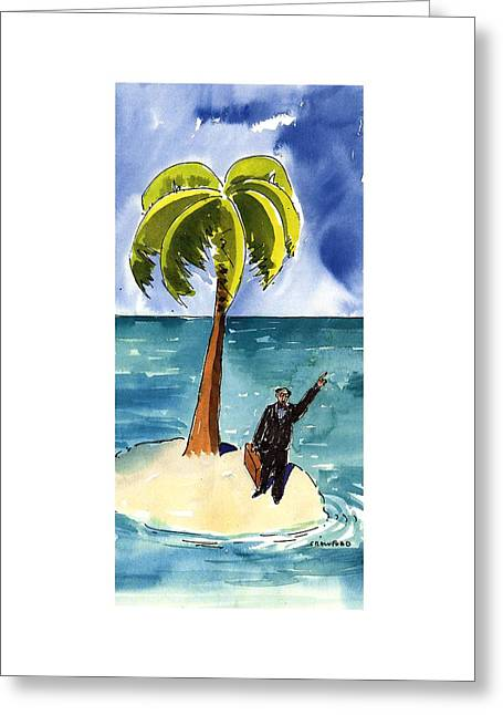 New Yorker August 19th, 1996 Greeting Card