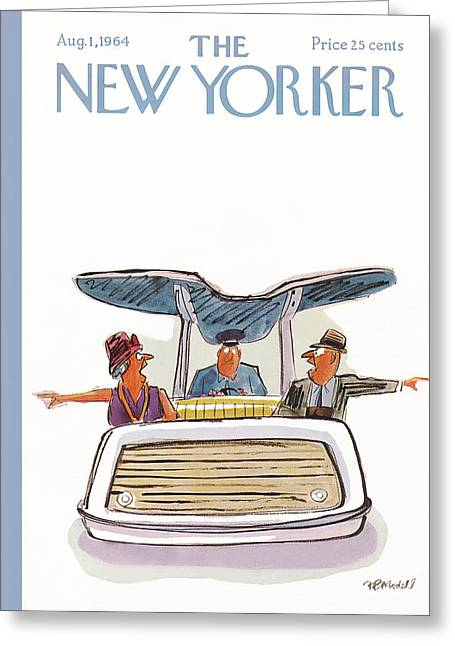New Yorker August 1st, 1964 Greeting Card