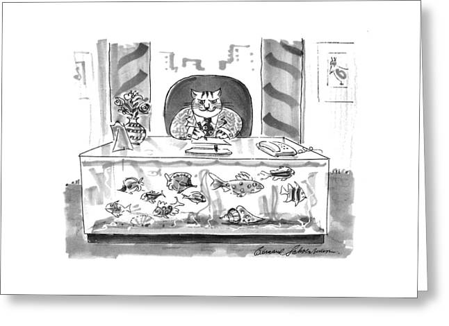 New Yorker August 1st, 1994 Greeting Card