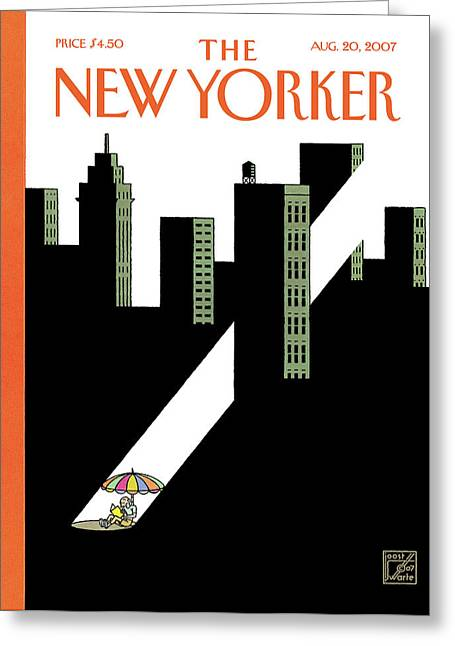 New Yorker August 20th, 2007 Greeting Card