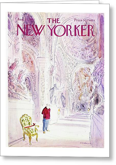 New Yorker August 21st 1971 Greeting Card