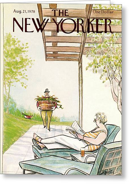 New Yorker August 21st, 1978 Greeting Card