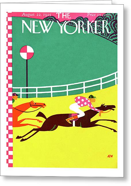 New Yorker August 22nd, 1925 Greeting Card