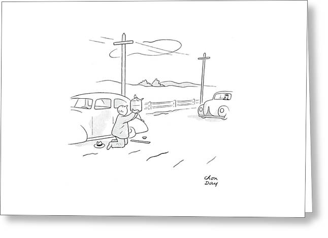 New Yorker August 22nd, 1942 Greeting Card