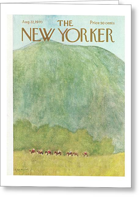 New Yorker August 22nd, 1970 Greeting Card